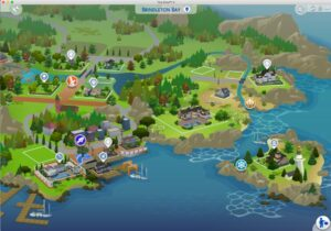 World Map-Sims 4-SheriGR