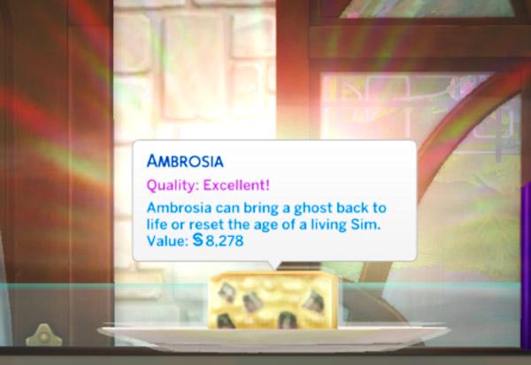 How do I make Ambrosia?