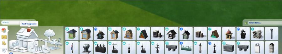Roof Sculptures & Chimneys 1