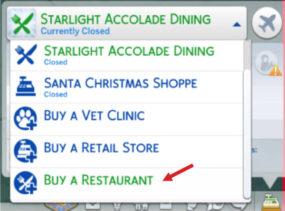 buy a restaurant