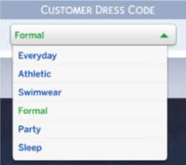 customer dress code
