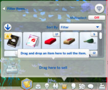 drag and drop to sell-1