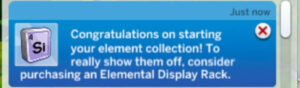 Notice after added debug/hidden object element to household inventory then back to lot