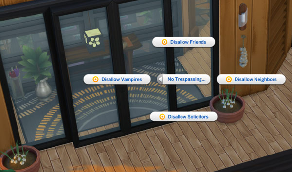 Sims 4-privacy issues-disallow options