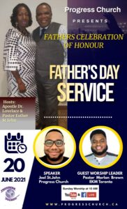 Father's Day Service @ via YouTube and Facebook LIVE