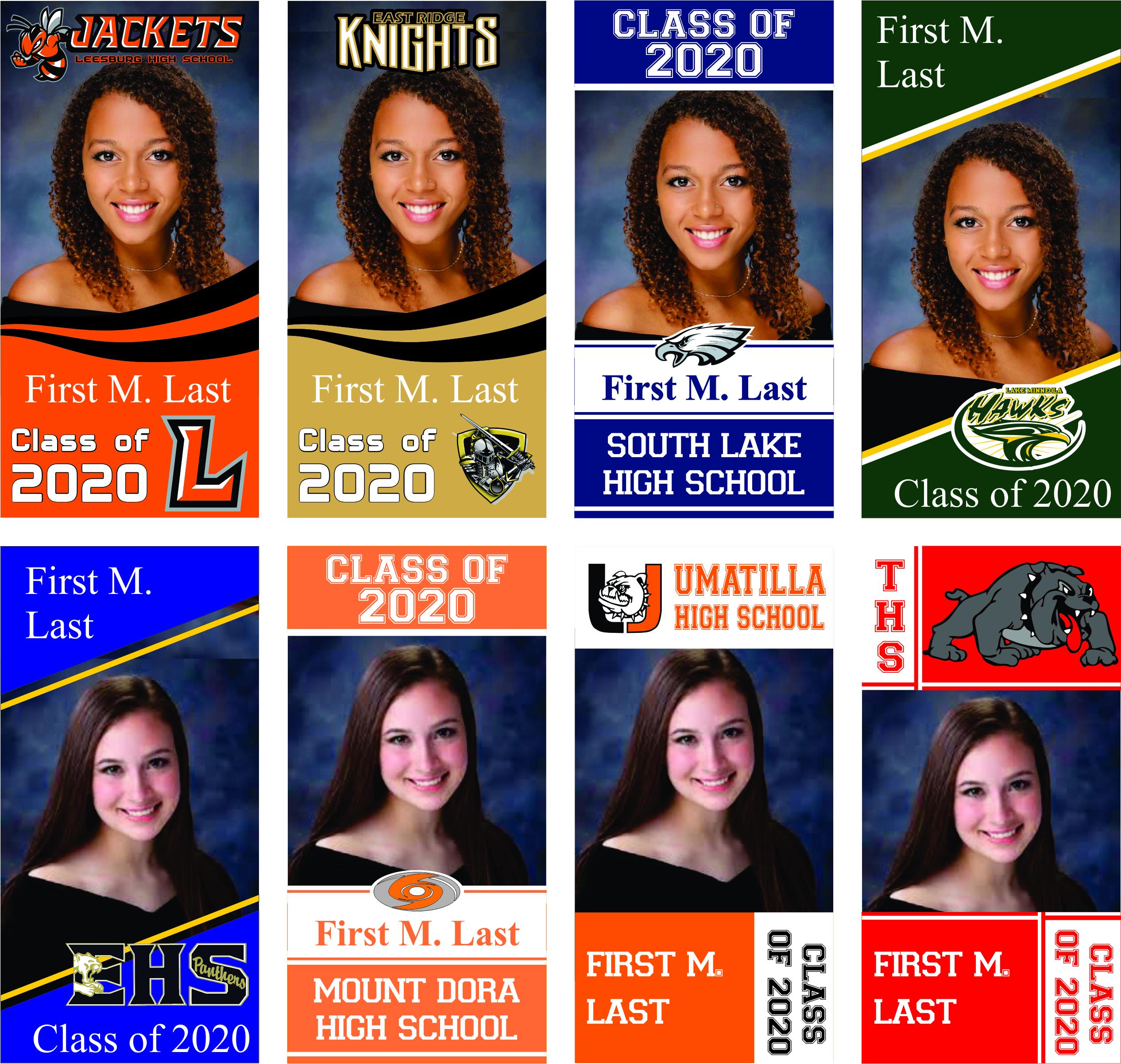 Lake County Schools Graduation Banners