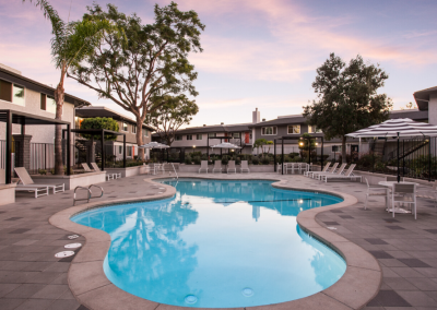 pool area uptown fullerton