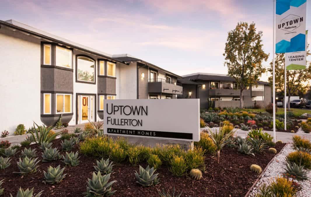 Uptown Fullerton Sign