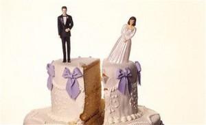 wedding cake cracked