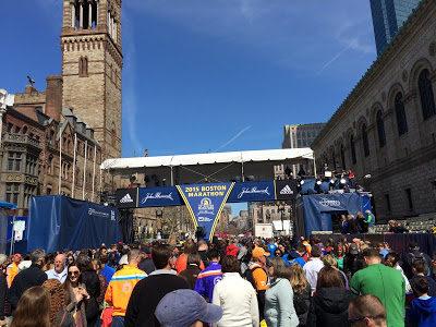A Runner's Look Inside the 2015 Boston Marathon Weekend (part 2)