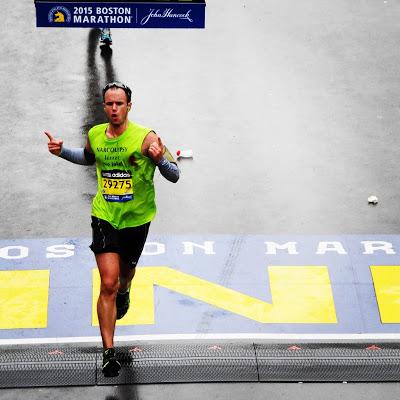 Justin Ferguson Boston Marathon 2015