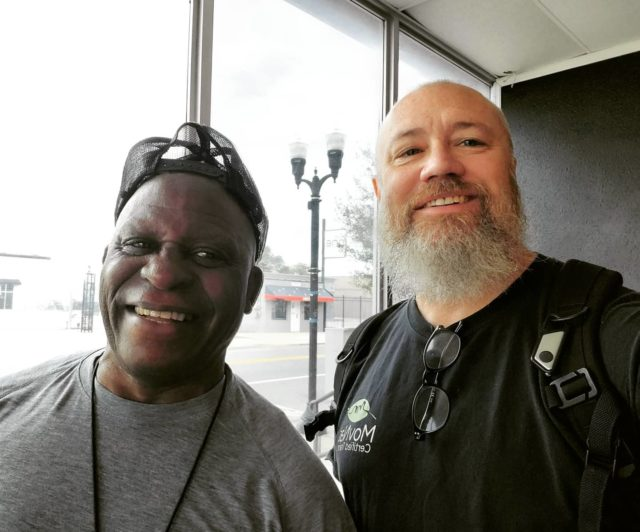 This is #DrMorey with Michael Bell! Mr. Bell was a world champion #kickboxer from the 1990s! What a great opportunity to meet some amazing people on this last Florida trip!  Think you may want to be part of a #movementcommunity ?? Give it a try, you may find it was the best decision you've ever made. Contact our #movementcenter to discover what we can do for you... #GLCMC #UncivilizedVitality #uncivilizeddoctor #notyourtypicaldoctor #Howwelldoyoumove #chirocare #chiropracticphysician #medicalmassage #MovNat #trainers #certified #naturalmovement #seminars #groups #worldchampion #kickboxing #michaelbell