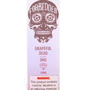 Forbidden Grapeful Dead 3mg 100ml