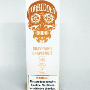 Forbidden Graveyard Grapefruit 3mg 100ml