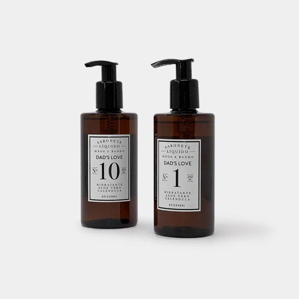 Sabonetes Líquidos para mãos e banho