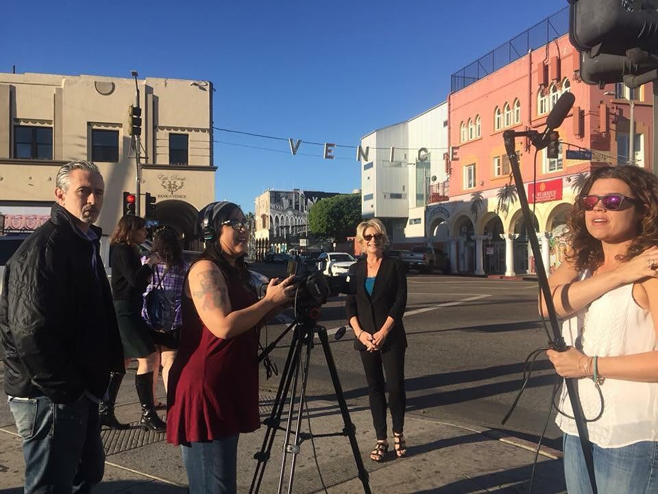 Working with Venice Beach, LA Chamber of Commerce