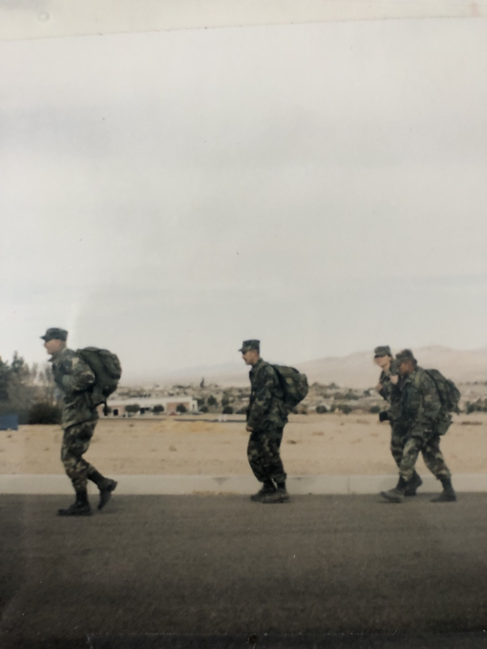 walk to veterans home in Barstow Ca