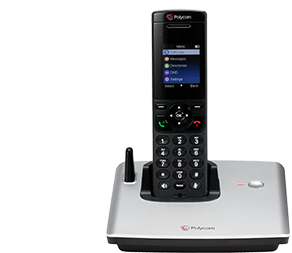 Workspace mobility at its finest: a scalable, SIP-based, cordless phone with business features usually only available in desk phones. Wireless IP phones for business.