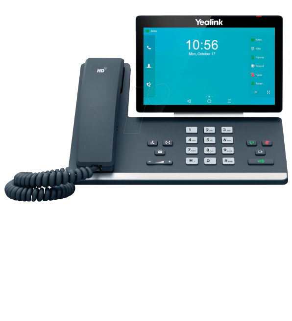 Yealink Smart Business Phone T58A and T58A with Camera is the most professional desktop collaboration tool in the market and is now available at Cloud Service Networks!