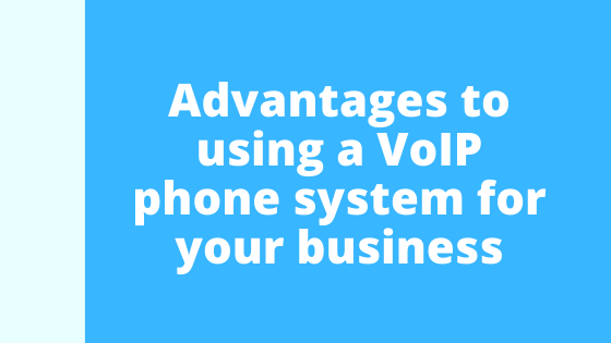 There are a number of advantages to using a VoIP business telephone system over the older generation of phone systems.