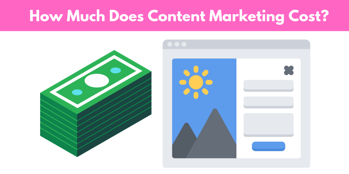 how much does content marketing cost in 2019
