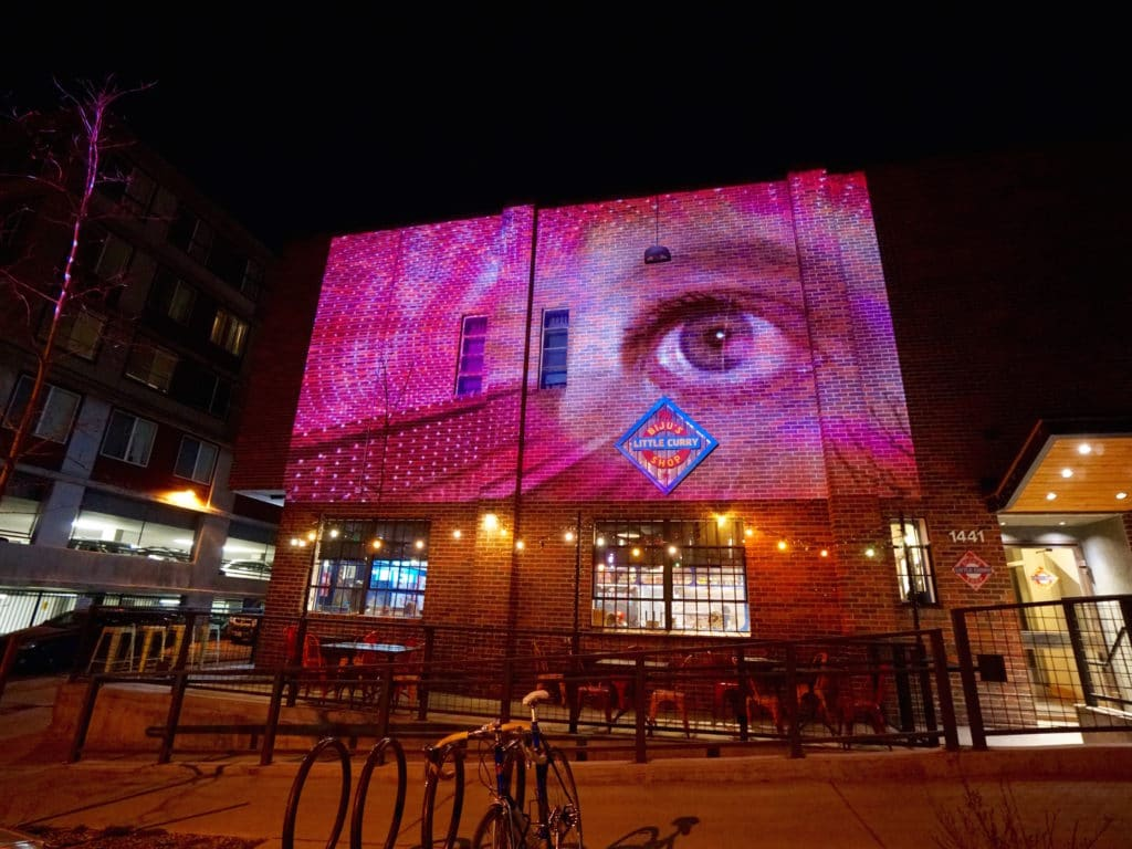 RiNo Side Stories: 10 Nights of Cinematic Art on the Urban Exterior (CEAVCO Audio Visual, www.ceavco.com)