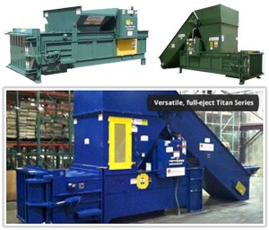 Closed End Recycling Equipment Machines NY, NJ, Eastern PA, CT