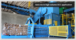 Auto Tie High Volume Recycling Equipment, Eastern PA, NY, NJ, CT