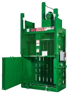 Vertical Cardboard Baler Recycling Equipment NYC, Eastern PA, NJ, CT