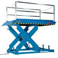 scissor lift loading dock commercial grade equipment