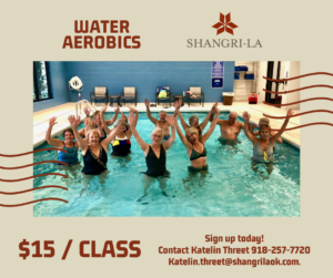Water Aerobics at the Shangri-La Indoor Pool