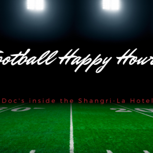 Football Happy Hour at Doc's
