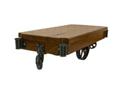 Claro Walnut Factory Cart
