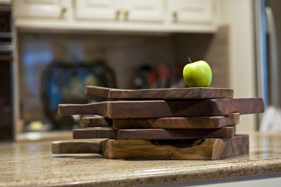 Claro Walnut Bread boards
