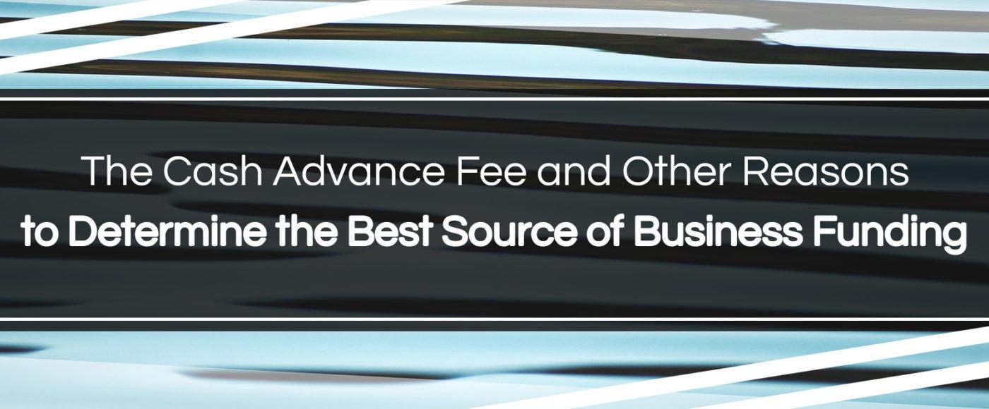 cash advance fee