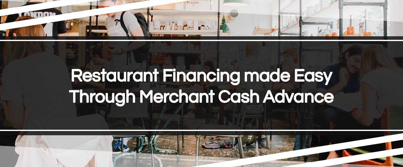 restaurant financing