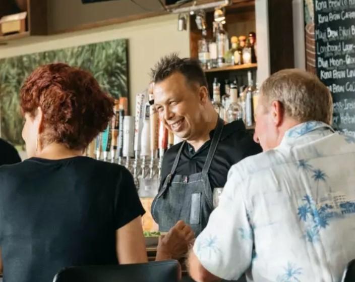 photo of chef allen hess big island restaurateur