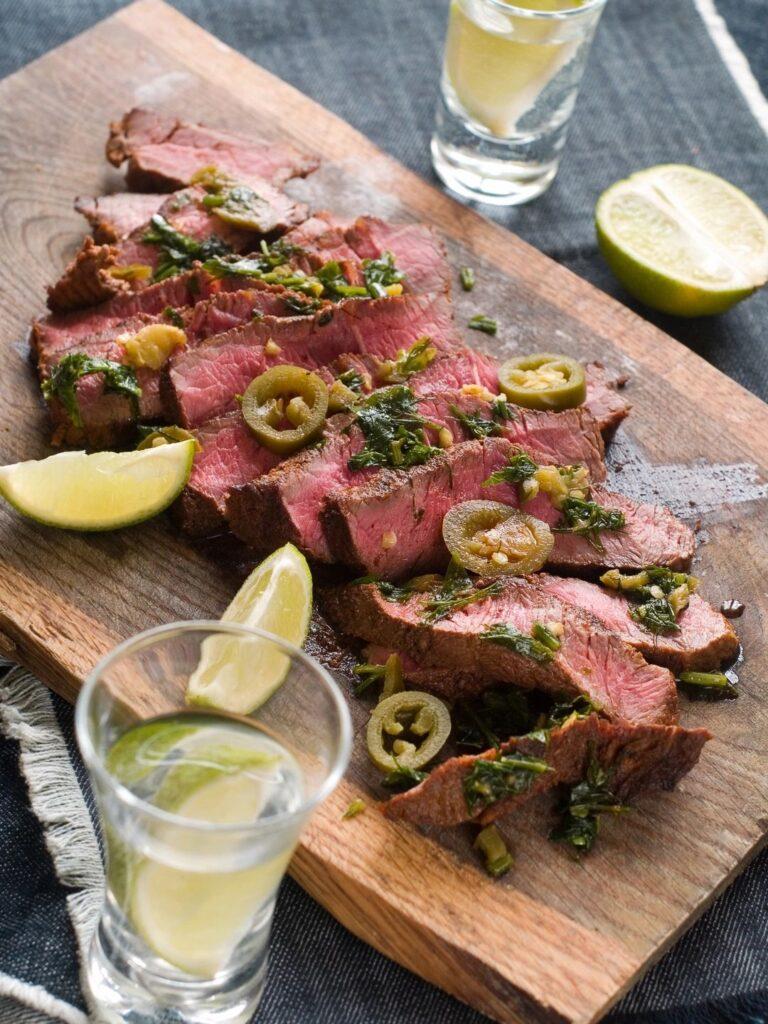 pupu steak dinner