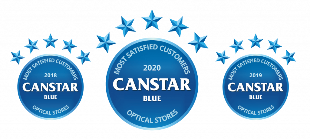 Canstar Blue Optical Stores Most Satisfied Customers 2018-19-20