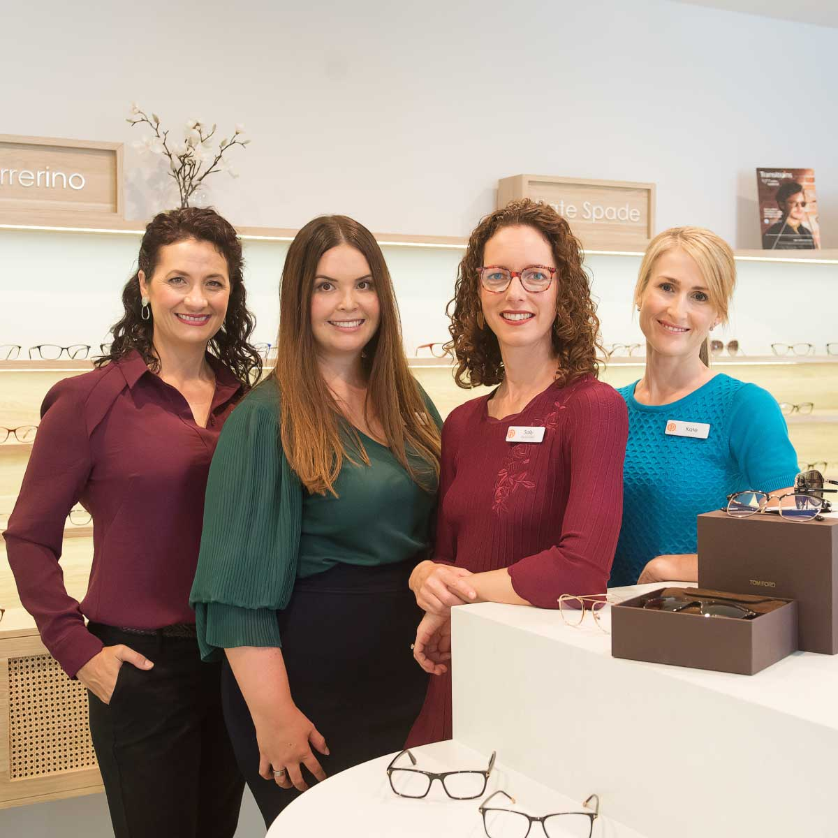 The team at Eyecare Plus Ashgrove
