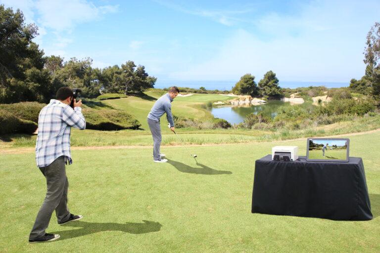 Golf Shoot n Print