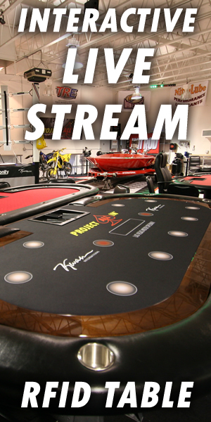 Interactive Live Stream - Project All In Poker Broadcast