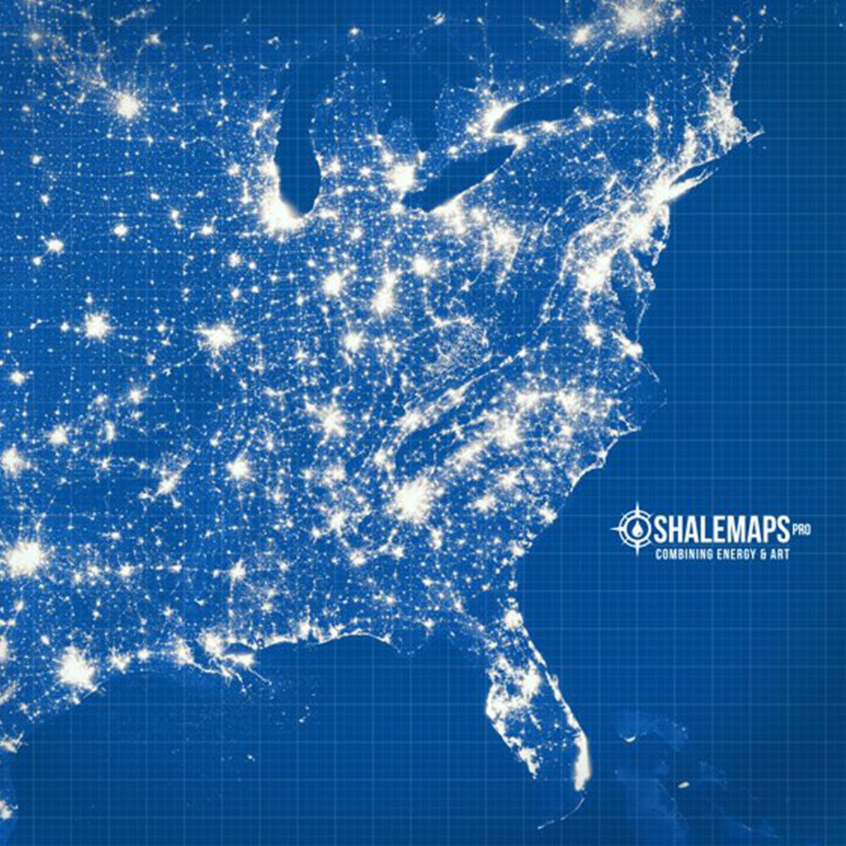 United States Natural Gas Flares Map