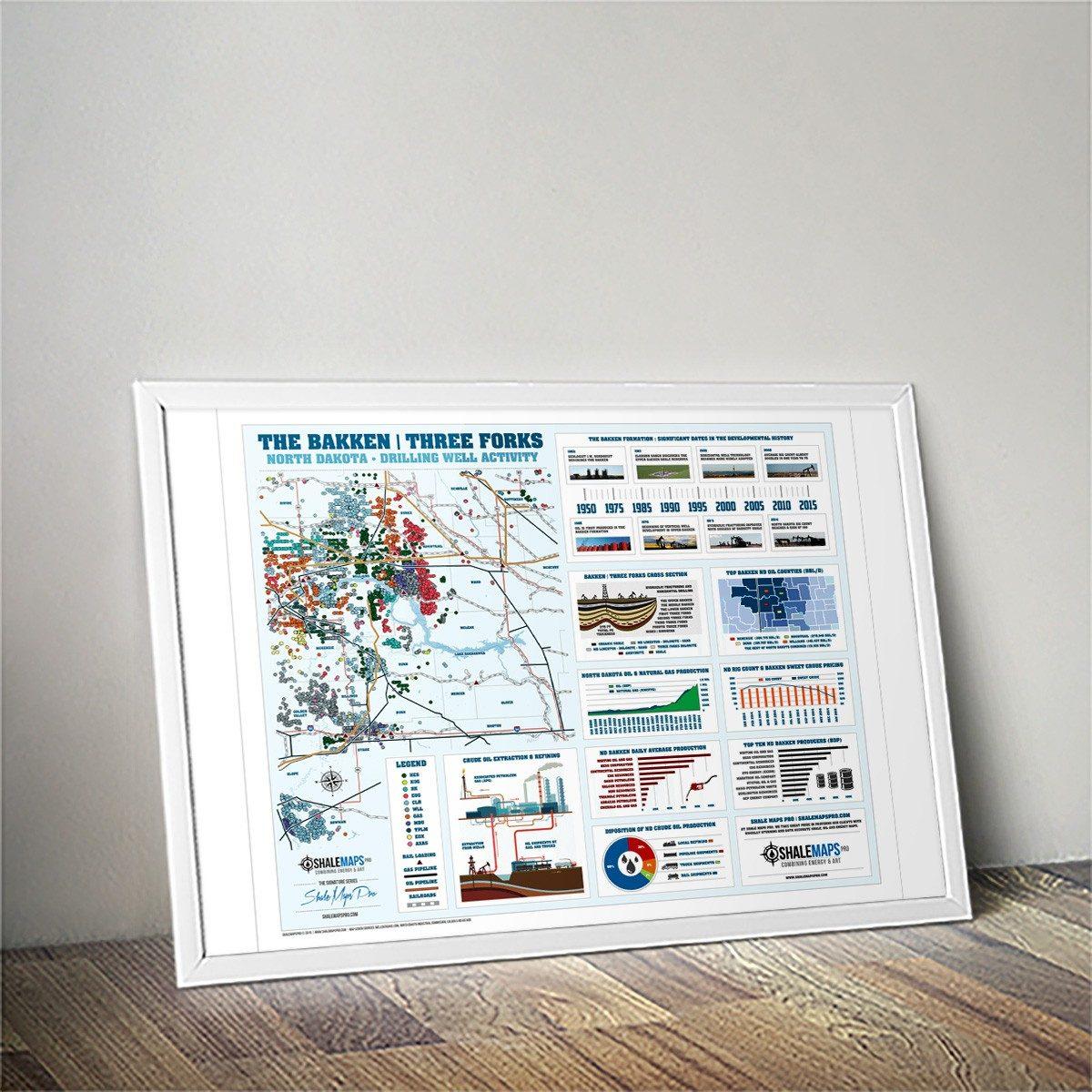 Bakken Shale Map