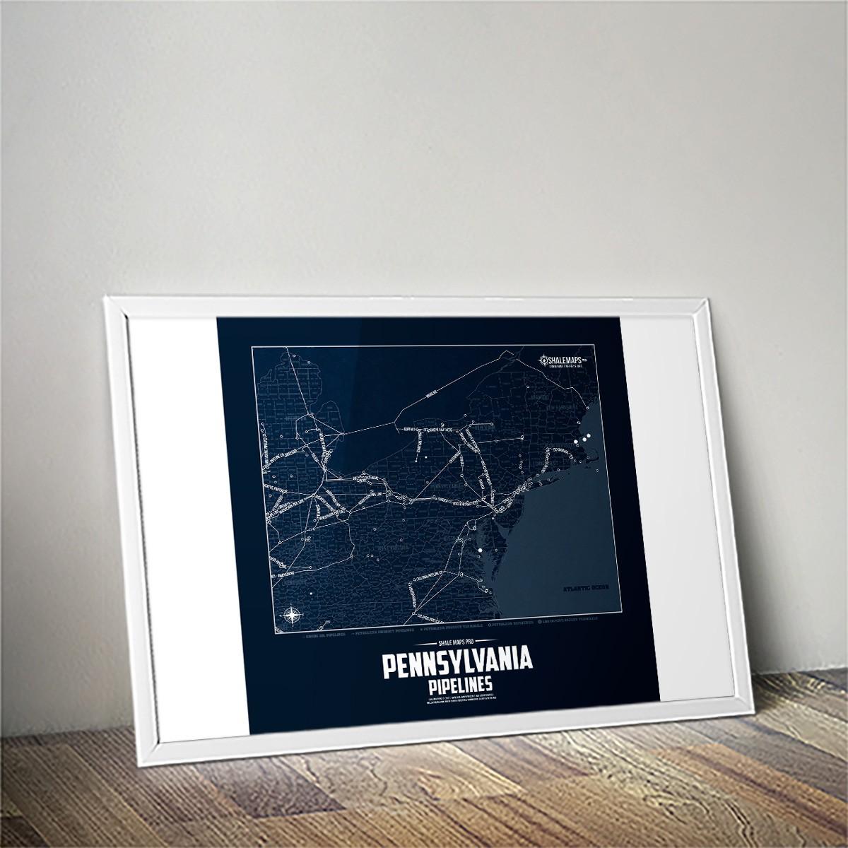Pennsylvania Oil & Gas Pipelines Blueprint