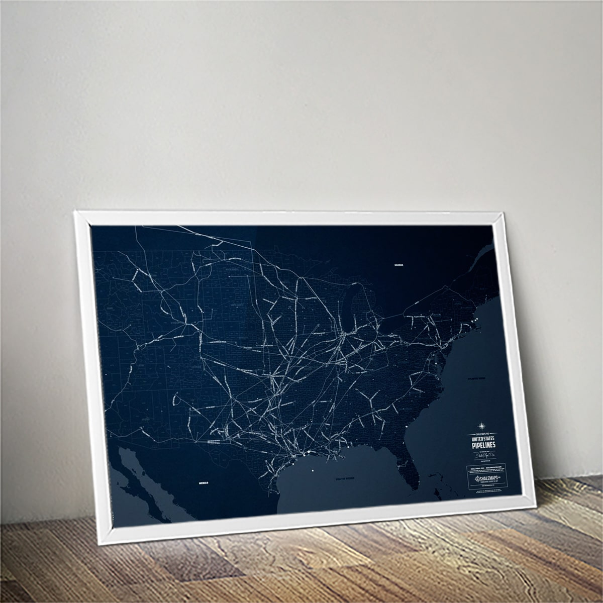 United States Oil & Gas Pipelines Map