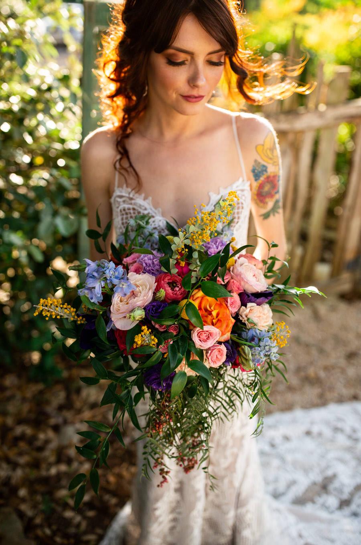 Texas bridal flowers