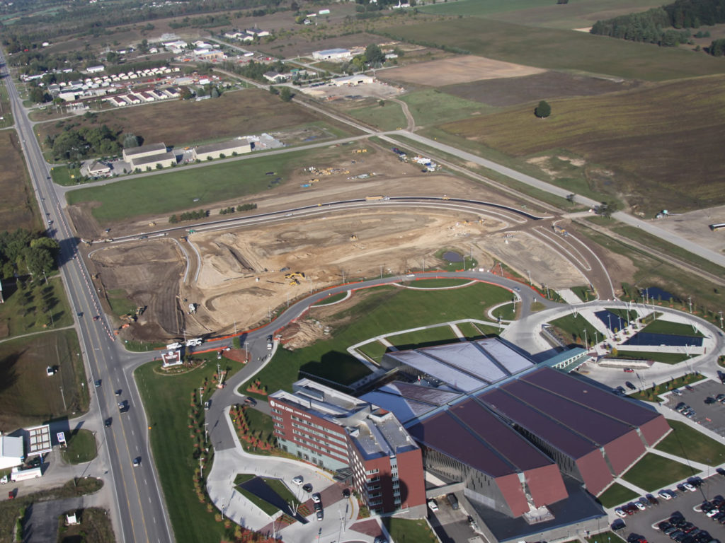 Turtle Creek Casino and Hotel Entry and Parking Lot Reconstruction