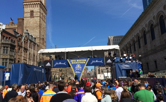 2015 Boston Marathon Finish Line - Photo Credit Justin Ferguson