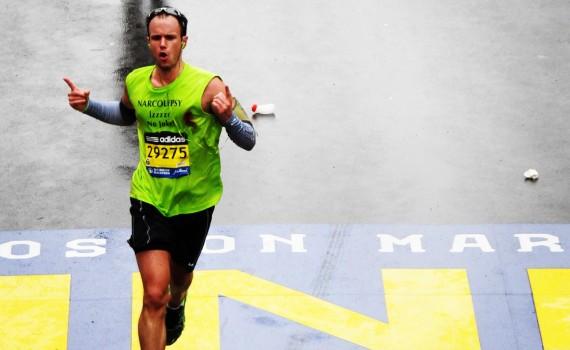 Justin Ferguson Boston Marathon